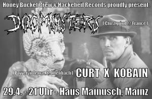 2016-04-29 Doomsisters + Curt X Kobain
